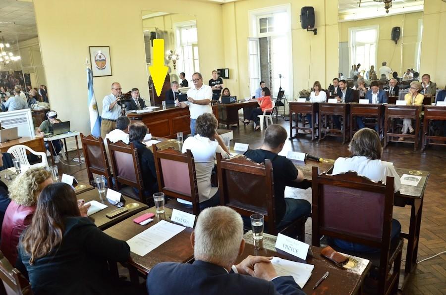 Luján: El intendente Luciani (Cambiemos), faltó a la sesión inaugural