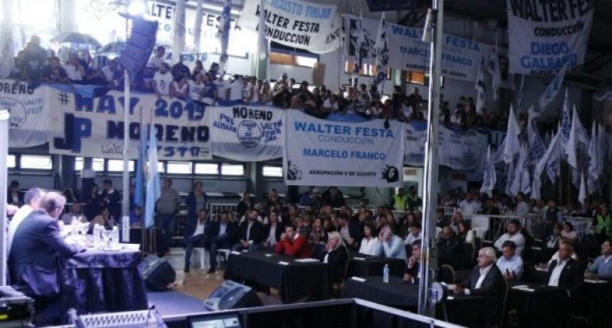 """Festa: """"Soy el intendente, y les pido a los concejales trabajar para sacar a Moreno adelante"""""""
