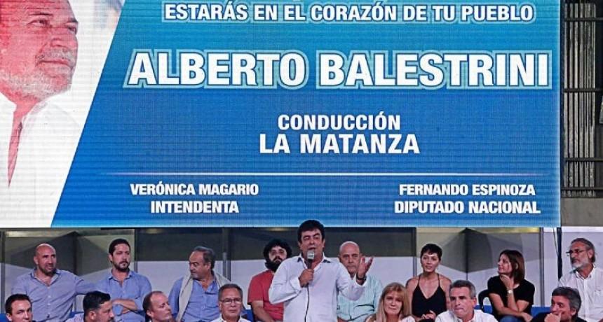 La Matanza: El peronismo homenajeó a Alberto Balestrini