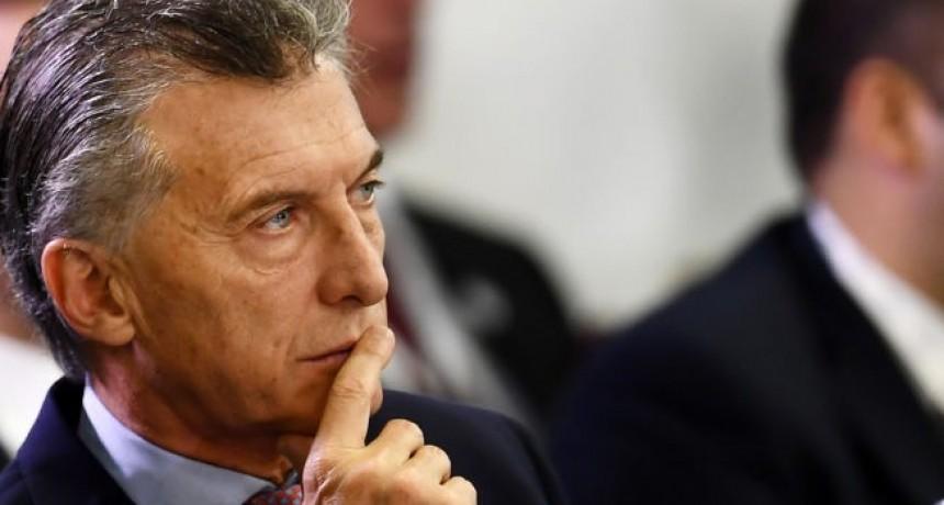 Cae la imagen de Macri, debido a los tarifazos