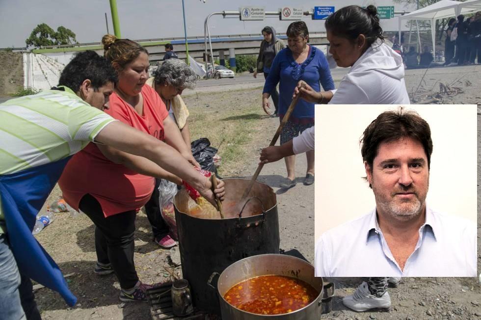 """Matías Barroetaveña: En el GBA hay """"35% de personas que dicen que alguien de su familia pasó hambre"""""""