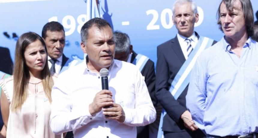 Moreno: Walter Festa encabezó el homenaje por Malvinas junto a los Veteranos