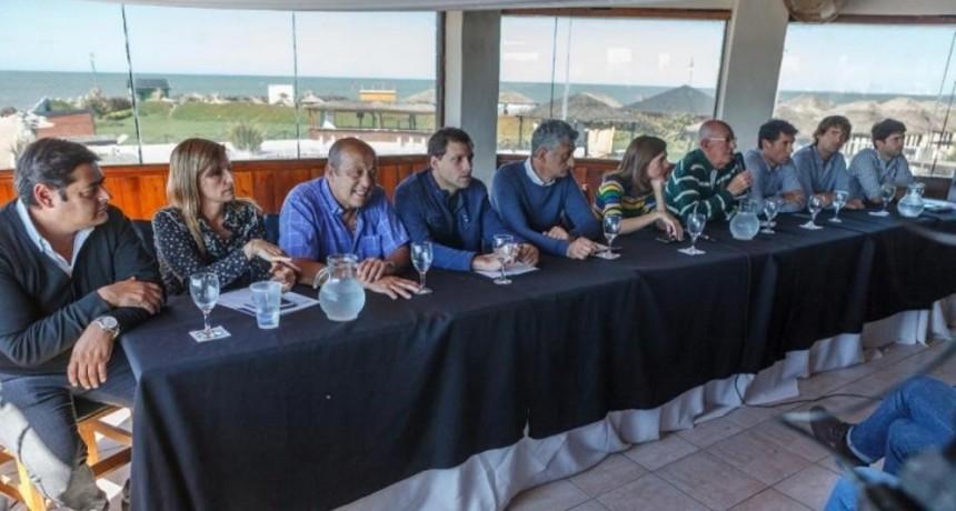 Santa Clara del Mar: Cumbre peronista de dirigentes de la 5ª Sección Electoral