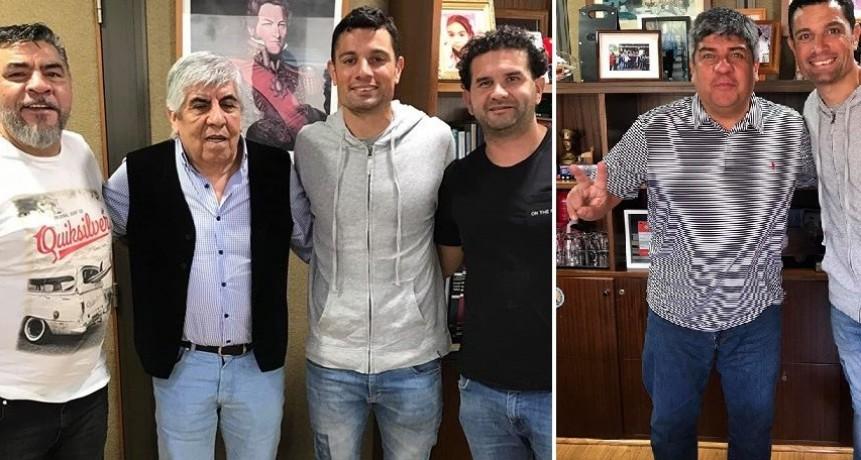 Gral. Rodríguez: Mauro García recibió un fuerte apoyo de Pablo y Hugo Moyano
