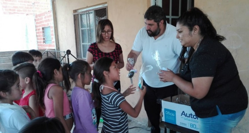 Moreno: Barreiro y la juventud del FOP entregó más de 4.000 huevos de pascua