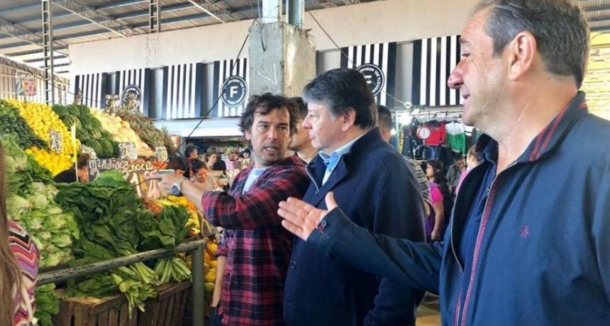 La Matanza: El equipo bonaerense de Urtubey recorrió el Mercado Central