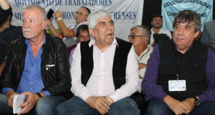 La Plata: Moyano acompañó a los trabajadores municipales en el lanzamiento del MUPE