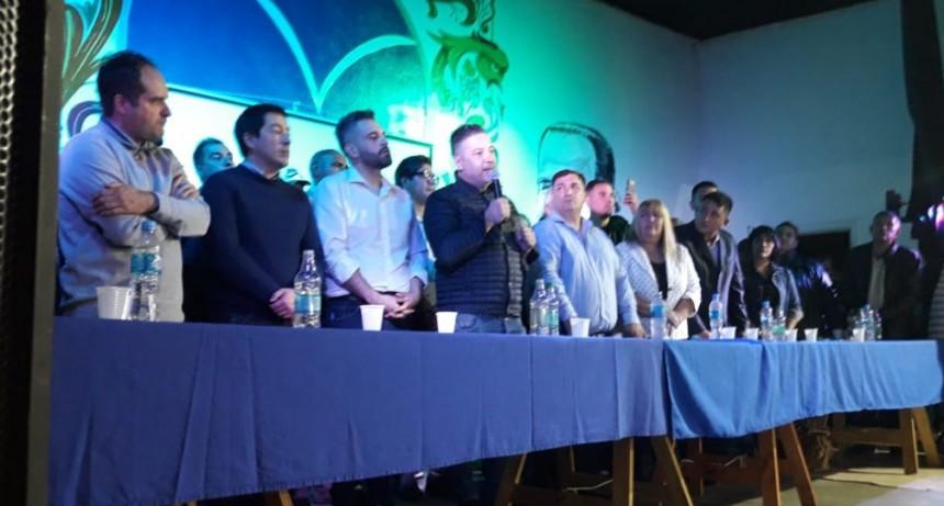 Merlo: Con presencia de intendentes, se lanzó el Frente Justicialista Cristiano