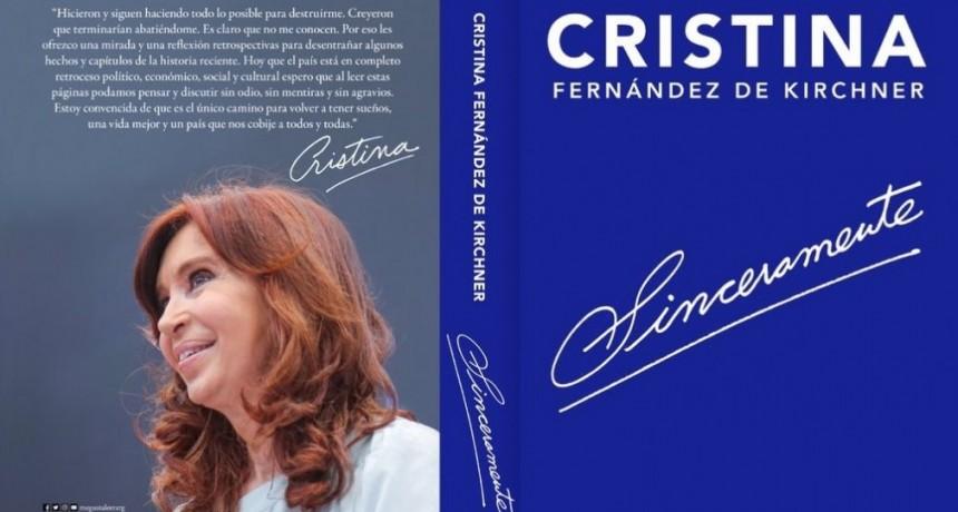 """Sinceramente, de CFK: De que trata el libro """"boom"""" del año electoral (Parte 1)"""