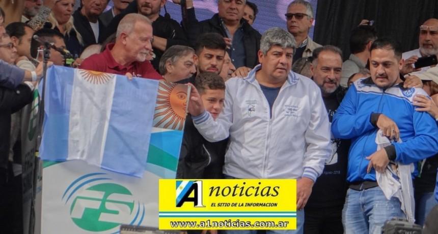 """30 A: El sindicalismo calificó de """"contundente"""" el paro contra las políticas de Macri"""