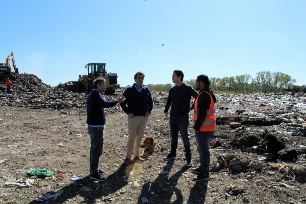 El diputado Revora visitó Luján en el marco de la Emergencia Ambiental