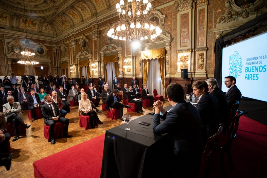 """El intendente Ferraresi acompañó el lanzamiento de la aplicación """"Cuenta DNI"""""""