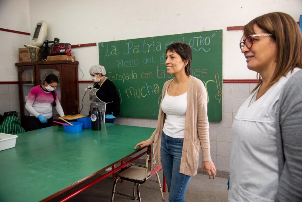 """Mayra Mendoza: """"Es una situación complicada y hay que entender que la patria es el otro. Esto junto a un Estado presente nos va a ayudar a sobrellevar esta crisis"""""""