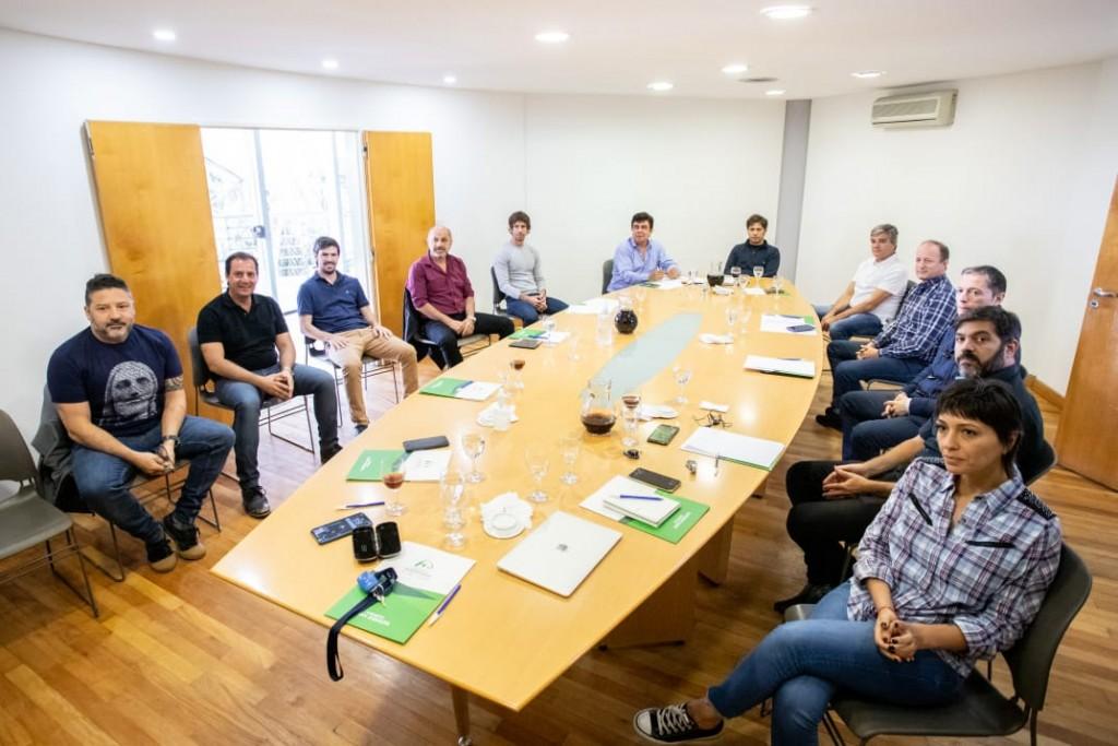 El gobernador Kicillof se reunió con intendentes del conurbano