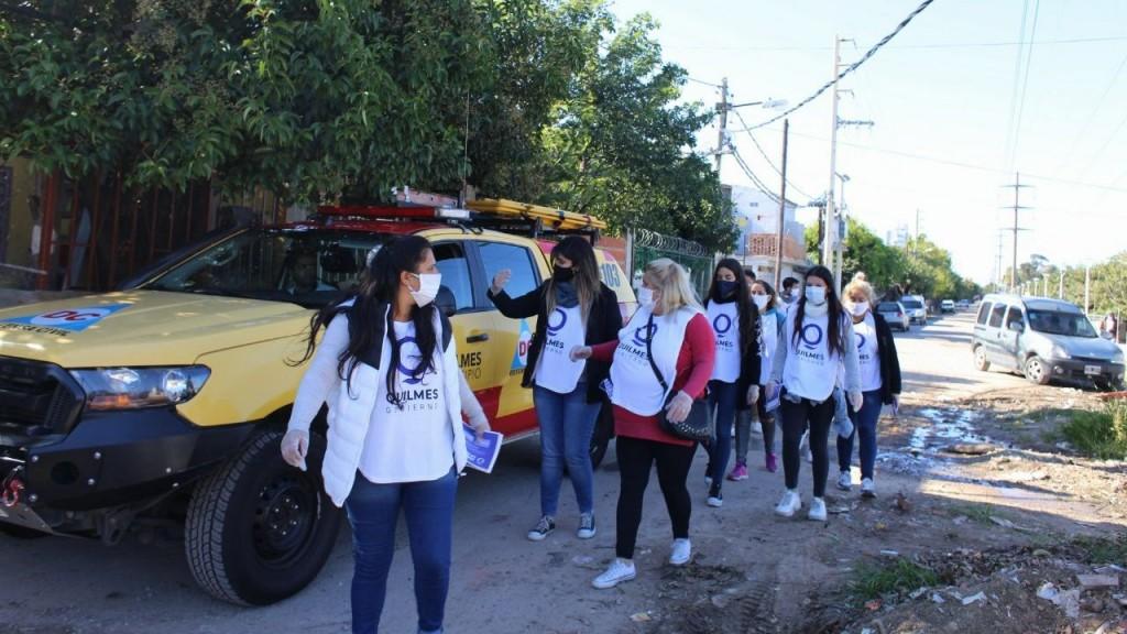 Quilmes: Jornada de prevención y concientización en centros comunitarios de Villa Itatí