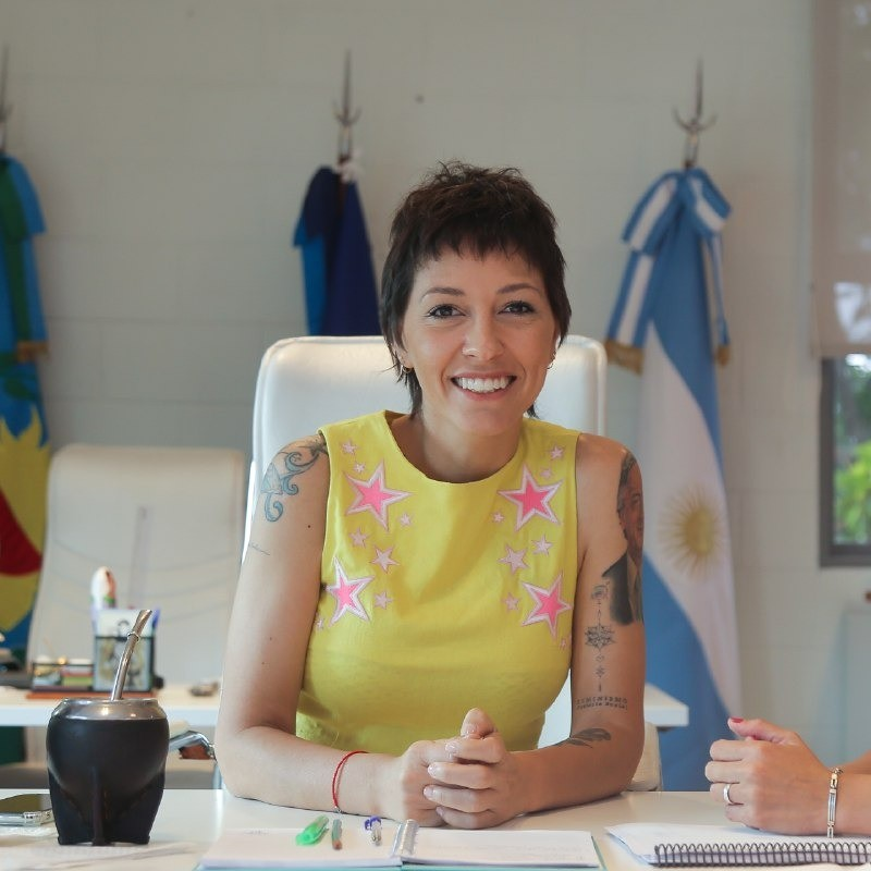 Mayra Mendoza destacó el programa Quilmes Compra en Casa: