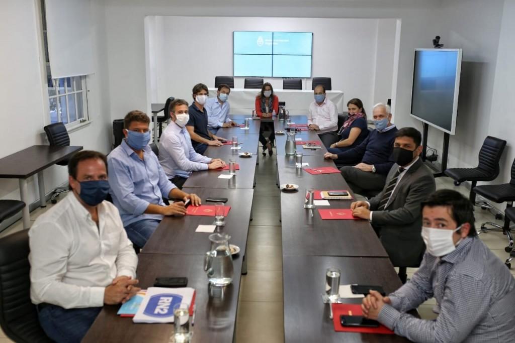 La ministra Frederic se reunió con intendentes de la Región Norte 2 para coordinar acciones