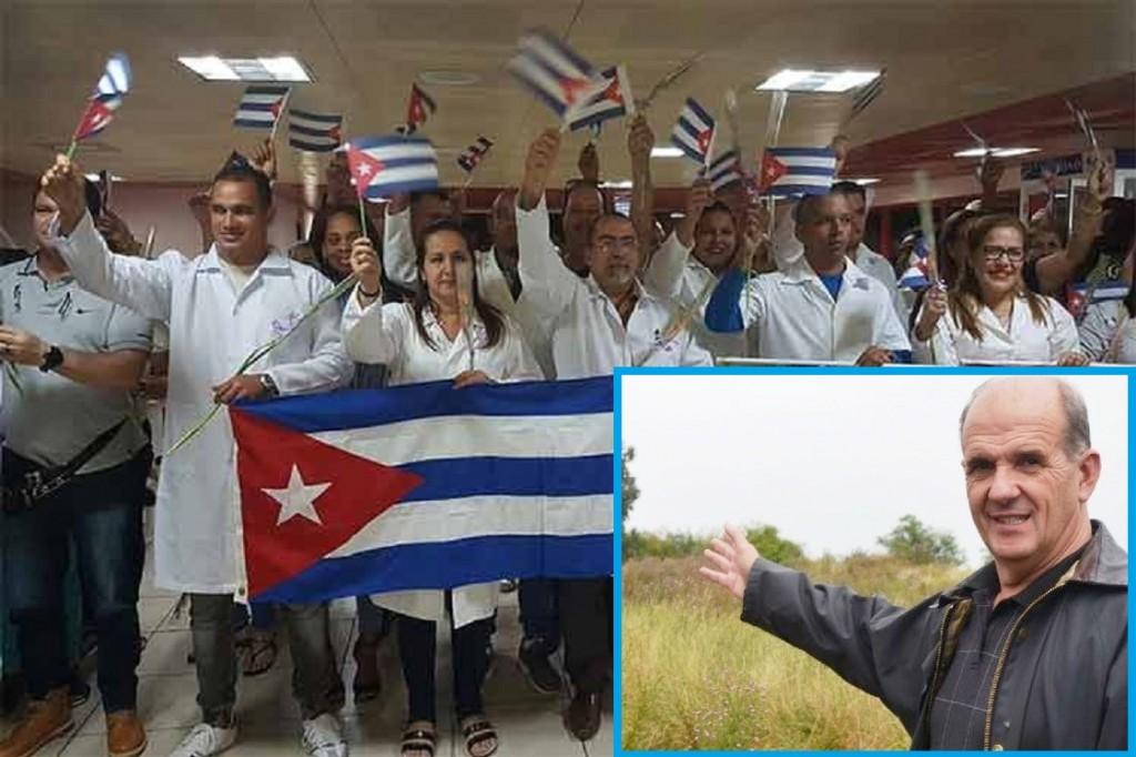 Pehuajó: Zurro solicitó que destinen los médicos cubanos a las localidades del distrito