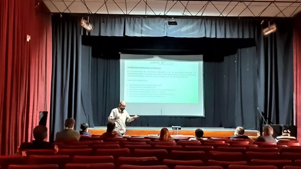 Brandsen: El intendente Daniel Cappelletti encabezó la Reunión de la Junta de Defensa Civil