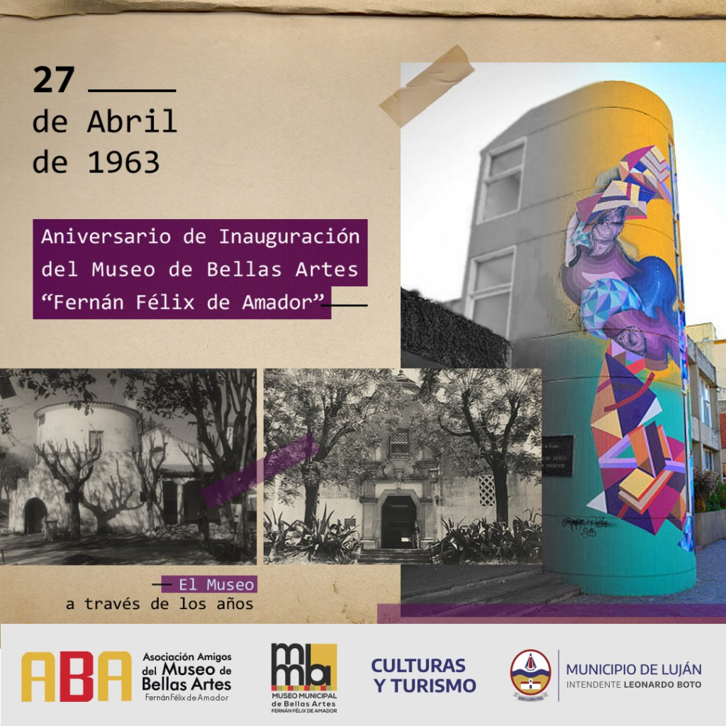 Luján: el Museo de Bellas Artes invita a recorrer su historia en imágenes