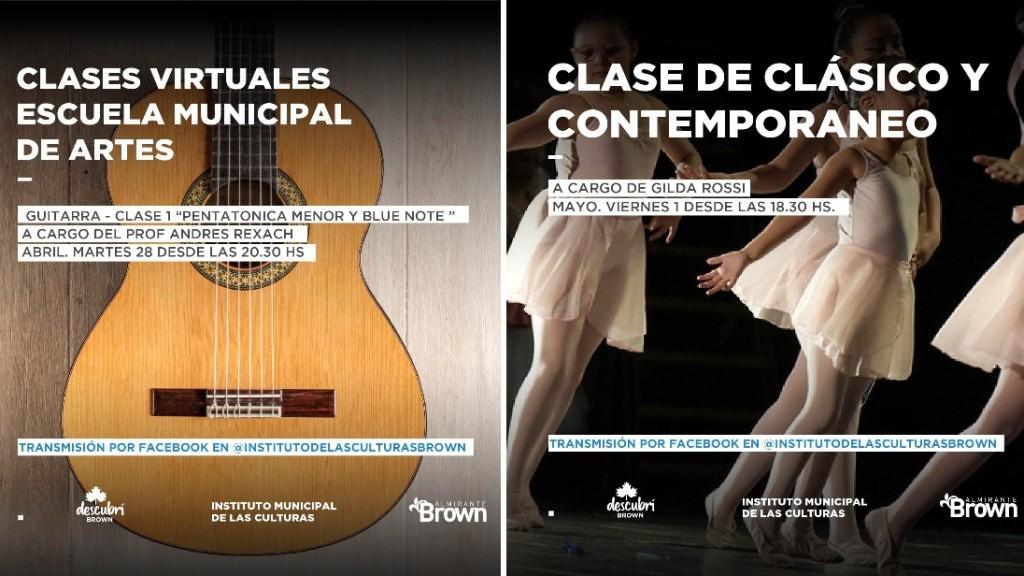 """Alte. Brown: El programa """"El municipio lleva la cultura a tu casa"""", suma más actividades"""