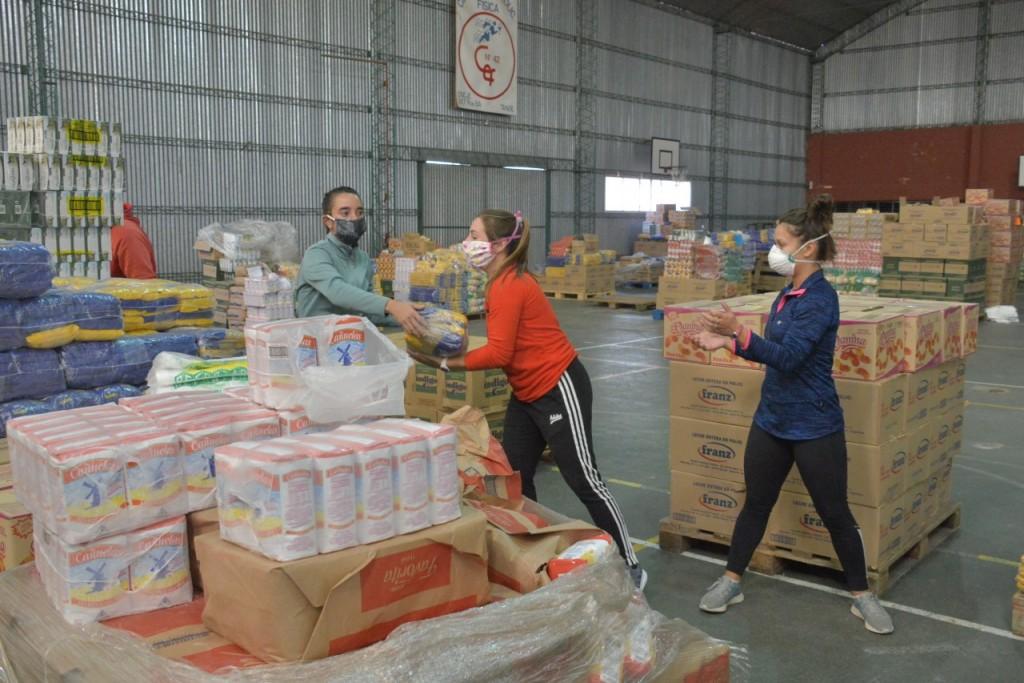 Tandil: El Consejo Escolar superó los 10 mil módulos alimentarios entregados en establecimientos educativos