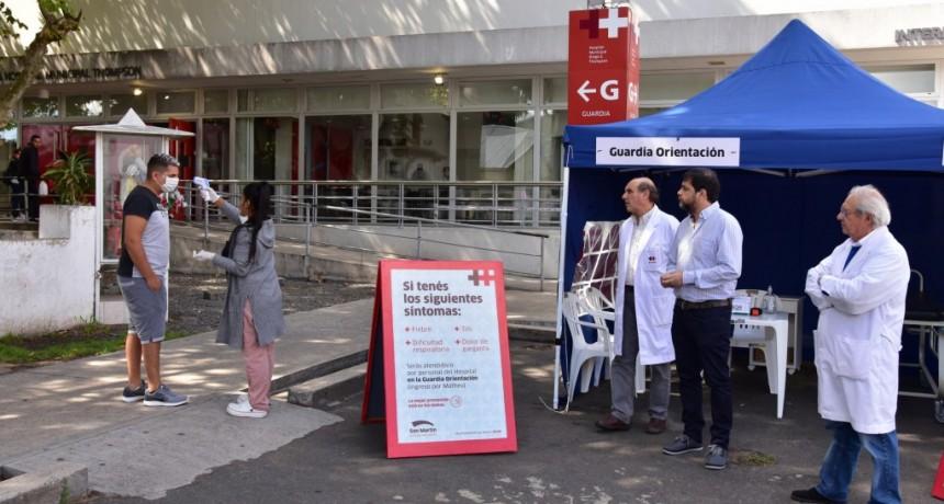 San Martín: El Municipio trabaja en todas sus áreas para enfrentar al Coronavirus