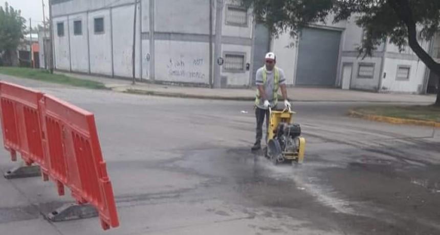 El Municipio de Mercedes realiza recambio de cañeríascloacales