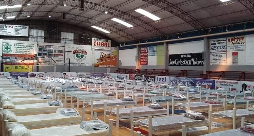 San Vicente: Se recibió el mobiliario para los Centros de Internación Extra Hospitalaria