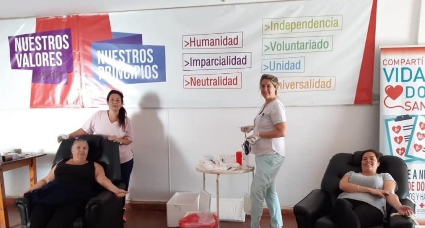 Chivilcoy: La Cruz Roja y el Hospital Municipal organizaron una colecta de sangre