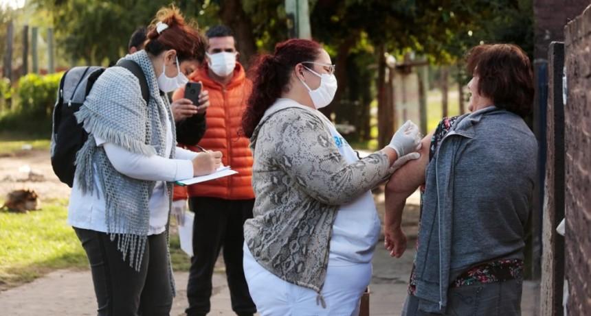 Alte. Brown: El municipio ya vacunó a más de 18 mil adultos mayores