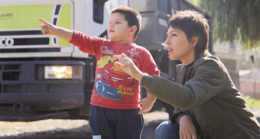 Mayra Mendoza supervisó un nuevo operativo de limpieza en San Francisco Solano