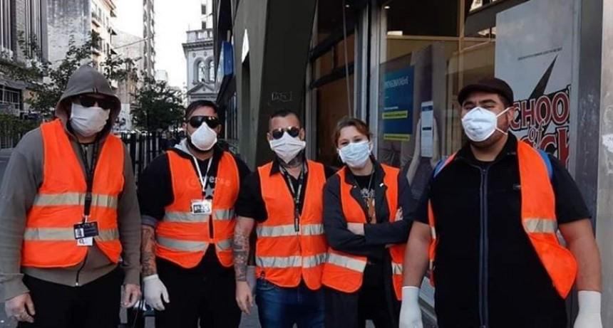 """SUTCA denuncia que """"los empresarios de seguridad privada buscan acrecentar sus ganancias explotando el Coronavirus"""""""