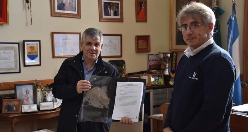 Chivilcoy: El intendente recibió del Supermercado La Anónima, la declaración jurada por el cumplimiento de precios