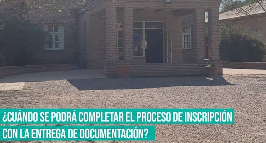 San Andrés de Giles:  Al término de la cuarentena se dispondrá nuevo calendario de trámites para garantizar la cursada de los alumnos del CBC