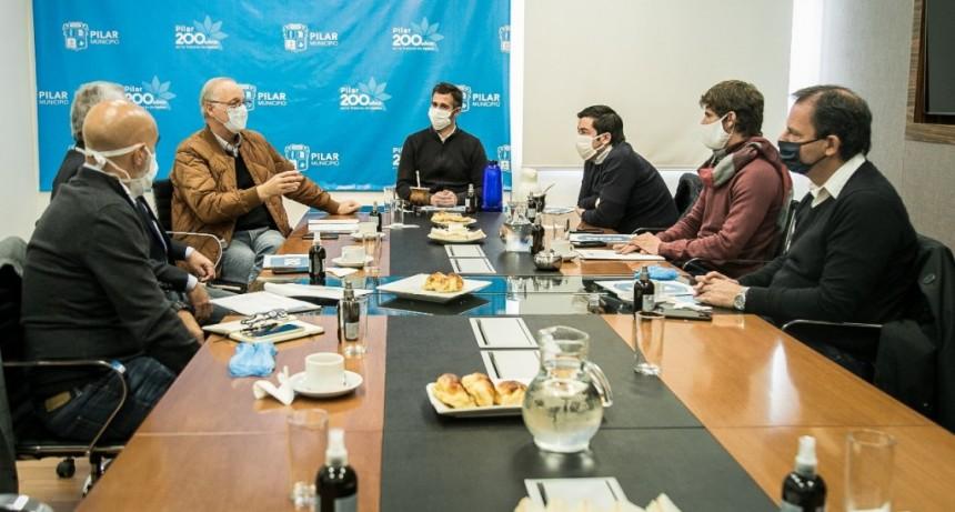 Pilar: Intendentes de la Región Norte II, se reunieron con el ministro Gollán