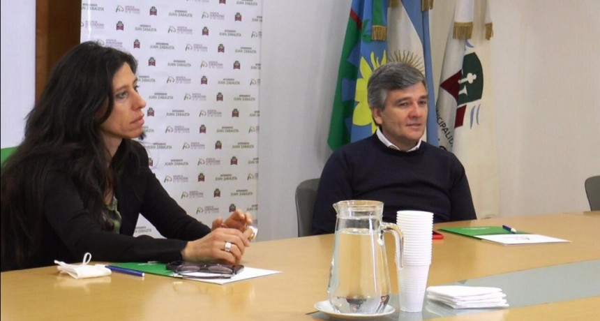 Hurlingham: Juan Zabaleta se reunió con la secretaria de Comercio para coordinar los controles de precios