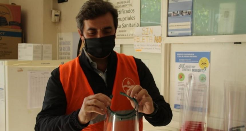 Luján: Nueva donación de insumos médicos de producción local al Policlínico