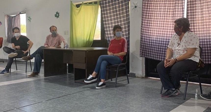 Quilmes: Mayra Mendoza encabezó el encuentro en el Barrio La Matera