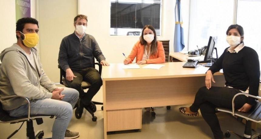 Pilar: Achával acompañó a Rosario Belaustegui en su asunción como gerente de la UDAI de ANSES