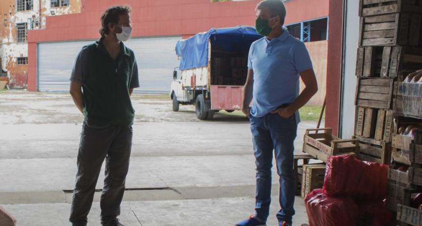 Zabaleta y Nahuel Levaggi acuerdan fortalecer el abastecimiento de alimentos a precios justos