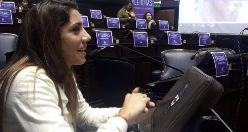 """Diputada Galán: """"Ninguna política pública es verdadera si no se le asigna presupuesto. Por eso presenté el proyecto de Presupuesto con perspectiva de género"""""""