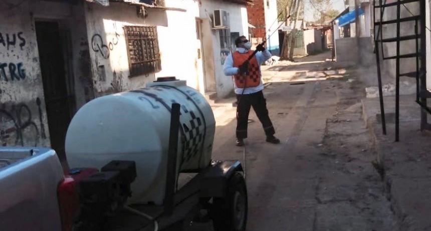 San Martín: El Municipio sigue brindando contención en los barrios