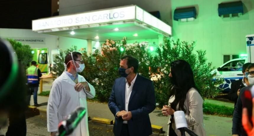 Escobar: La Municipalidad y PAMI intervienen la clínica San Carlos para garantizar su óptimo funcionamiento
