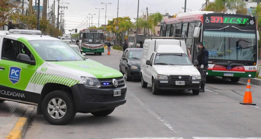 San Fernando eleva los controles de seguridad para garantizar el cumplimiento de la cuarentena