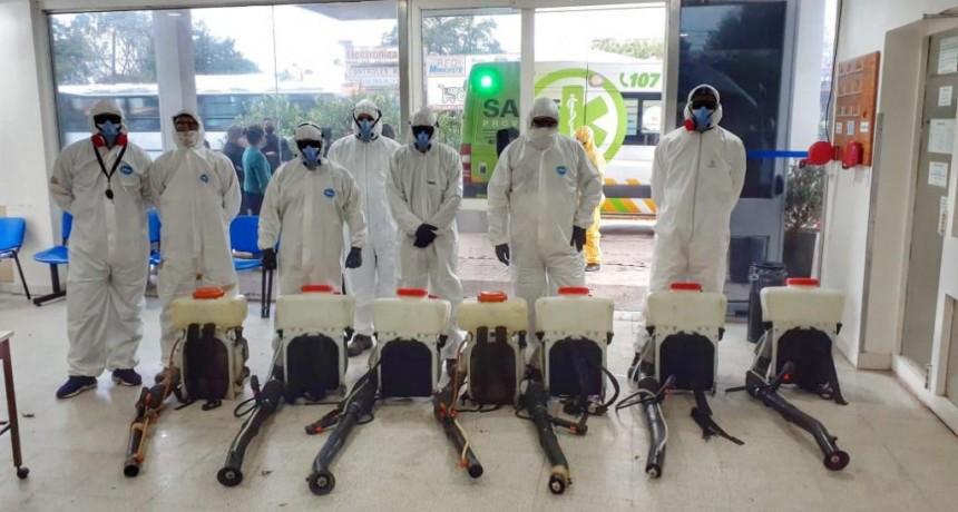Escobar: Avanza con el cronograma de hisopado del personal y con el proceso de sanitización total del edificio
