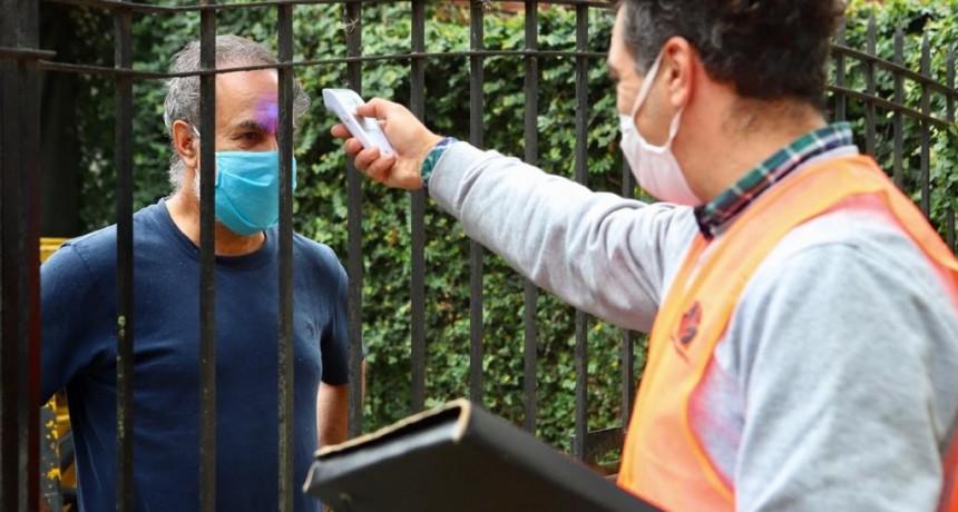 Esteban Echeverria: El Municipio controla que repatriados cumplan la cuarentena