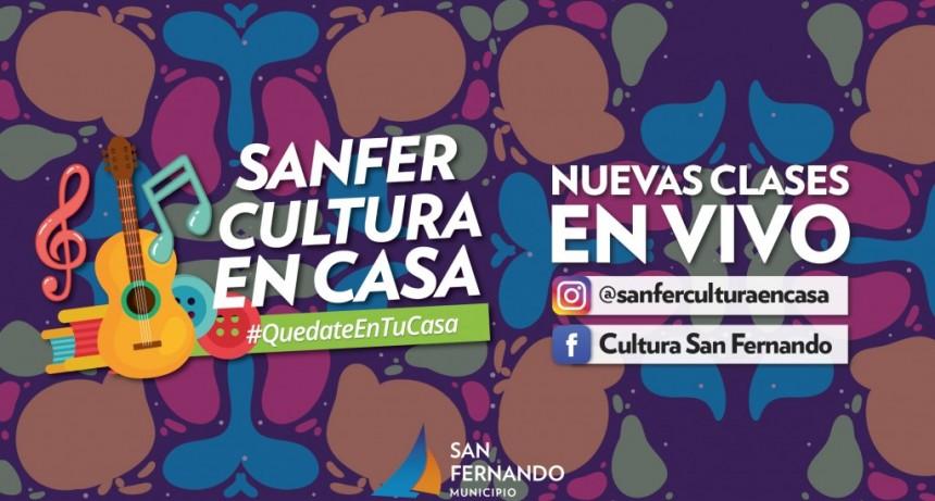 San Fernando: Clases y actividades en vivo por Instagram y Facebook