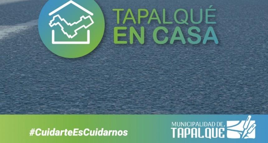 Tapalqué: Ya funciona el programa Tapalqué en casa