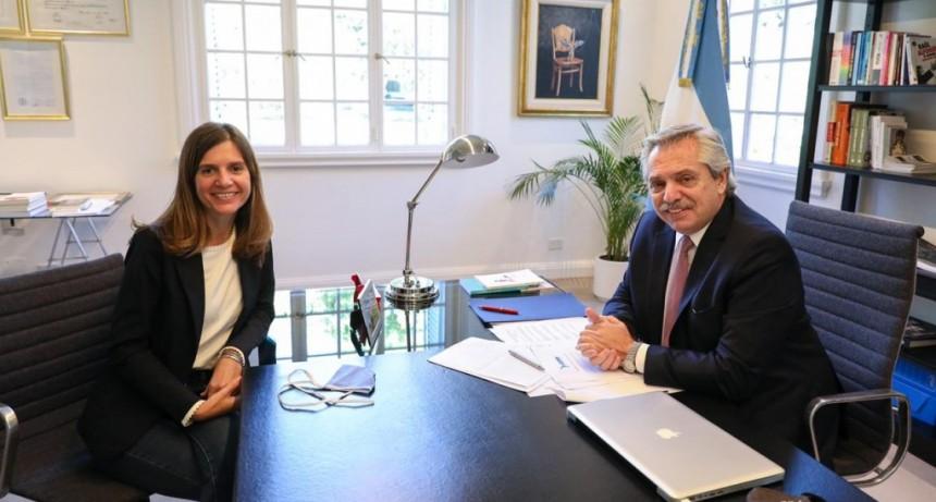 Alberto Fernández designó a María Fernanda Raverta como nueva titular de ANSES
